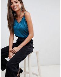 Fashion Union - Satin Cami Top - Lyst