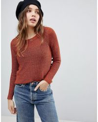 ONLY - Knit Jumper - Lyst