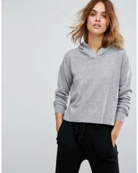 Micha Lounge - Cropped Hoodie - Lyst