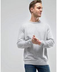 Esprit - Sweatshirt With Marl Detail - Lyst