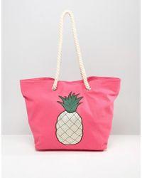 Chateau - Pineapple Beach Bag - Lyst