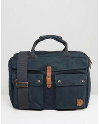 Fjallraven - Greenland 14l Laptop Bag Navy - Lyst