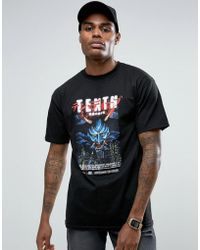 10.deep - T-shirt With Devils Playground Print - Lyst