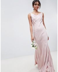 Ghost - Bridesmaid Maxi Dress In Boudior Pink - Lyst