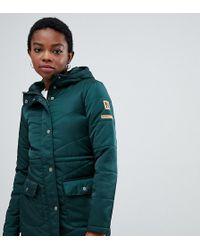 Noisy May Petite - Hooded Padded Jacket - Lyst