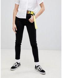 Pull&Bear - Super Skinny High Waist Jeans - Lyst