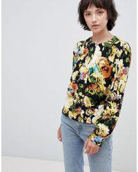Minimum - Floral Blouse - Lyst