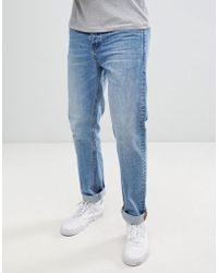 Dr. Denim - Gus Relaxed Straight Jeans In Light Blue Wash - Lyst