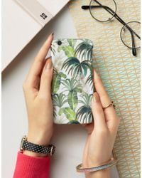 New Look - Palm Print Iphone 6 Case - Lyst