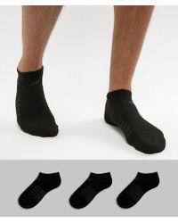 New Balance - 3 Pack No Show Socks - Lyst