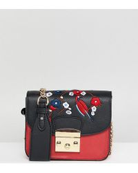 Glamorous - Structured Cross Body Bag With Embroidery - Lyst