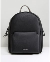 CALVIN KLEIN 205W39NYC - Pebble Finish Backpack - Lyst
