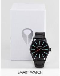Nixon - Sentry Ss Bracelet Watch In Black - Lyst