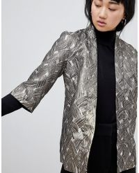 B.Young - Metallic Jacquard Jacket - Lyst