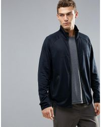 Perry Ellis - 360 Runner Track Jacket In Black - Lyst