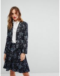 MAX&Co. - Max&co Parma Floral Blazer Co-ord - Lyst