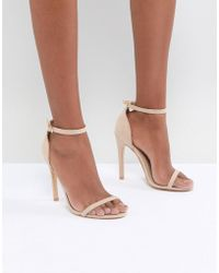 Truffle Collection - Barely There Sandal - Lyst