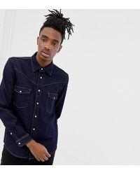 Heart & Dagger - Denim Western Shirt With Long Sleeves - Lyst