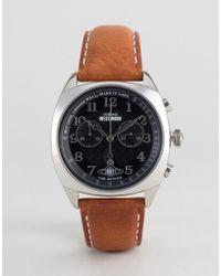 Vivienne Westwood - Leather Watch In Tan Vv176bktn - Lyst