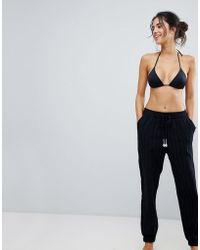 Seafolly - Washed Dobby Beach Trouser - Lyst