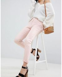 Warehouse | Light Pink Skinny Jeans | Lyst