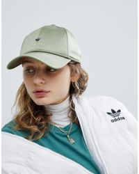 Adidas Originals | Originals Satin Cap In Green | Lyst