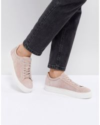 SELECTED - Suede Trainer - Lyst