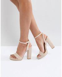 Truffle Collection - Slim Platform Sandal - Lyst