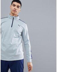 82be59feef0a Oakley Golf Gridlock Half Zip Sweatshirt In Grey in Gray for Men - Lyst
