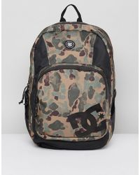 DC Shoes - Locker Backpack In Camo - Lyst