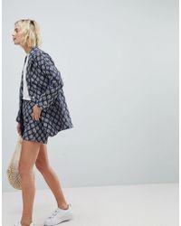 Suncoo - Textured Shorts - Lyst