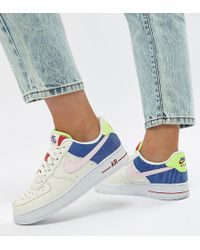 Nike - Panache Pack Air Force 1 Trainers - Lyst