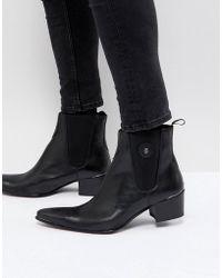 Jeffery West - Sylvian Boots In Black Leather - Lyst