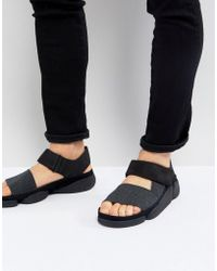 Clarks - Trigenic Evo Leather Sandals - Lyst