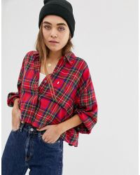 Lyst In Check Shirt Levi's Red Painters qzMpVSU