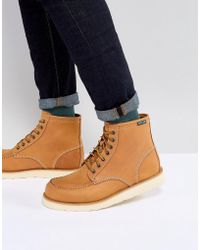Eastland - Lumber Up Nubuck Boots In Wheat - Lyst