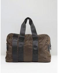 New Look - Carryall In Dark Khaki - Lyst