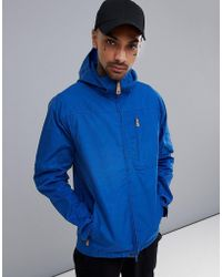 Fjallraven - Sten Jacket Lite In Deep Blue - Lyst