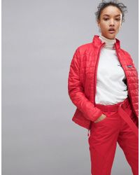 Patagonia - Nano Puff Jacket In Red - Lyst