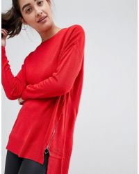 New Look - High Neck Sweater - Lyst