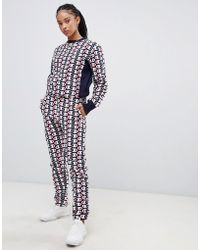 Champion - Tracksuit Bottoms In All Over Print Reverse Weave Co-ord - Lyst