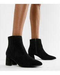 Park Lane - Wide Fit Block Heel Ankle Boots - Lyst
