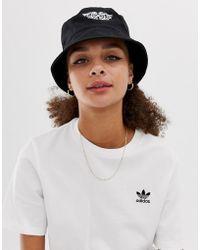 ASOS - Bucket Hat With Motif - Lyst