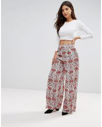 Lavand - Hazey Print Trousers - Lyst