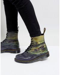 Dr. Martens - William Turner Fisherman 8-eye Boots - Lyst