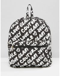 Juicy Couture - Graffiti Backpack - Lyst