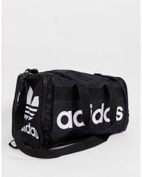 Details about adidas Originals Airliner AC Sports Bag Black