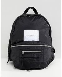 Cheap Monday - Multi Pocket Backpack With Patch - Lyst