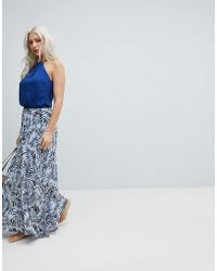 Rip Curl - Rip Curl Last Tribe Maxi Beach Dress - Lyst