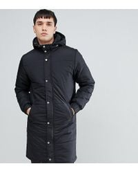 Another Influence - Tall Longline Quilted Coat - Lyst